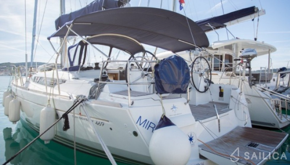 Rent Sun Odyssey 469 in Croatia - Sailica
