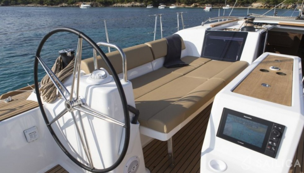 Dufour 460 - Sailica Yacht Booking System #4