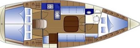 Bavaria Cruiser 36/2cbs - Yacht Charter Sailica