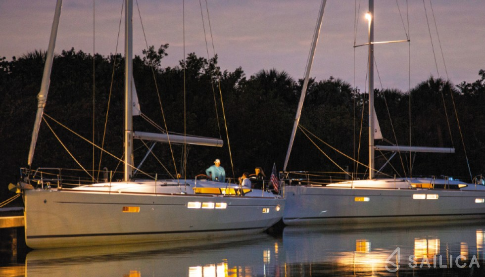 Sun Odyssey 509-3 in Hodge Creek Marina - Sailica