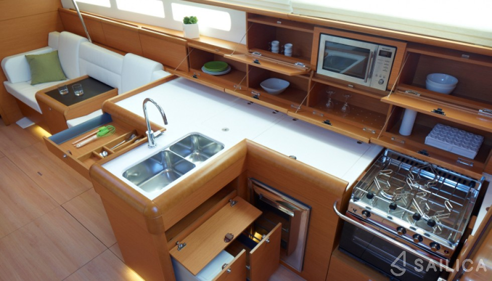 Sun Odyssey 509-3 - Sailica Yacht Booking System #11