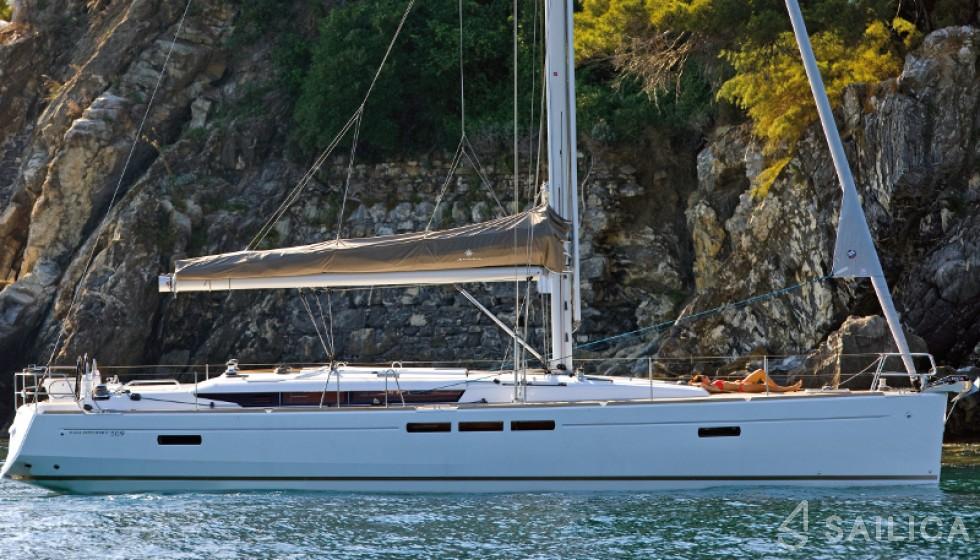 Sun Odyssey 509-3 - Чартер яхт Sailica