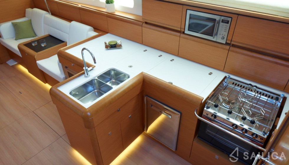 Sun Odyssey 509-3 - Sailica Yacht Booking System #20
