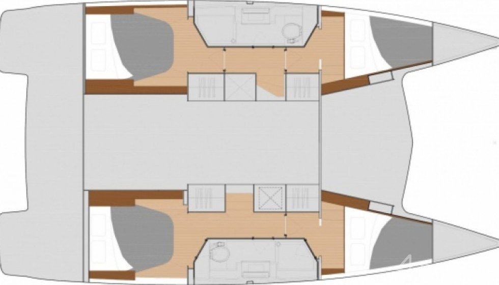 Rent Fountaine Pajot 40 in Thailand - Sailica