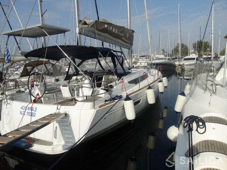 Rent Sun Odyssey 469 in Greece - Sailica