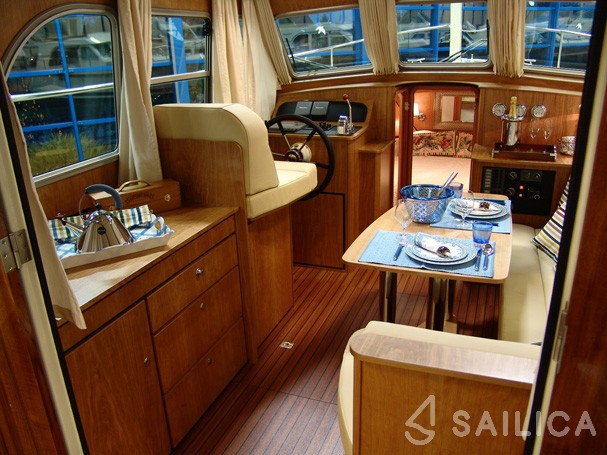 Linssen Grand Sturdy 29.9 Sedan - Yacht Charter Sailica