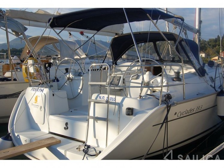 Cyclades 39.3 - Yacht Charter Sailica