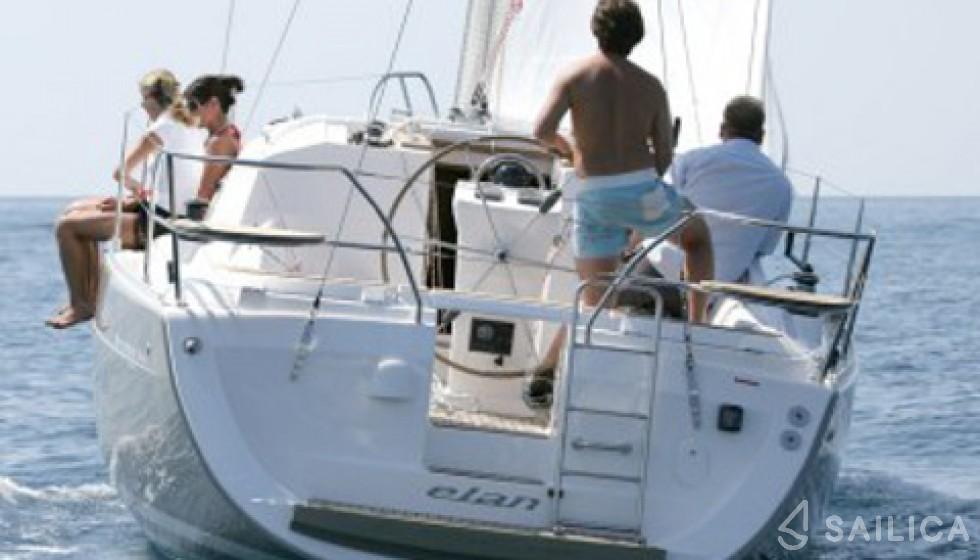 Elan 344 Impression in Marina Kornati - Sailica