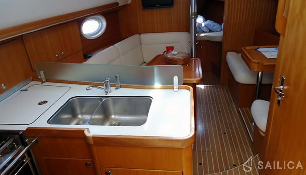 Elan 344 Impression - Sailica Yacht Booking System #7