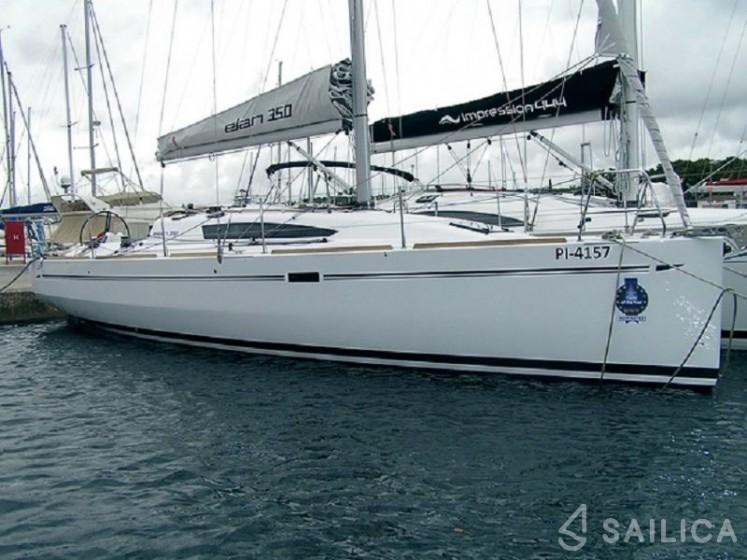 Elan 350 - Yacht Charter Sailica