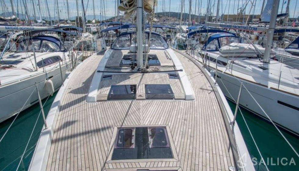Rent Hanse 575 in Croatia - Sailica