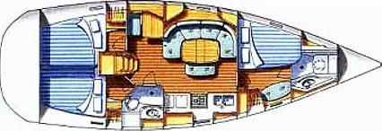 Oceanis 393 - Yacht Charter Sailica
