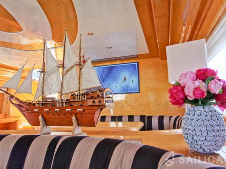 Rizzardi Posillipo Technema 80 - Yacht Charter Sailica