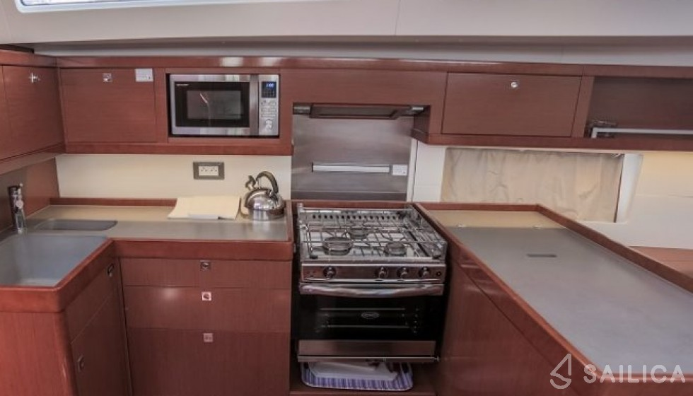 Oceanis 55 - Sailica Yacht Buchungssystem #4