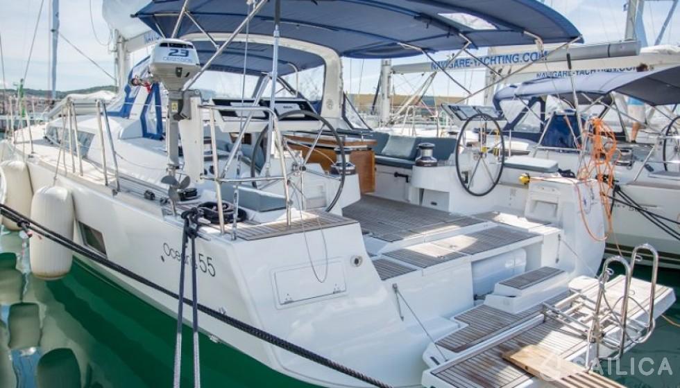 Oceanis 55 - Jachtcharter Sailica