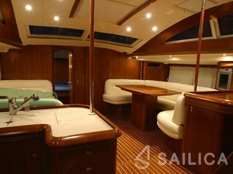Sun Odyssey 54DS-4 - Sailica Yacht Booking System #4