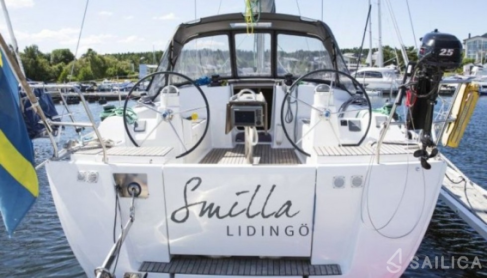 Dufour 375 GL - Чартер яхт Sailica