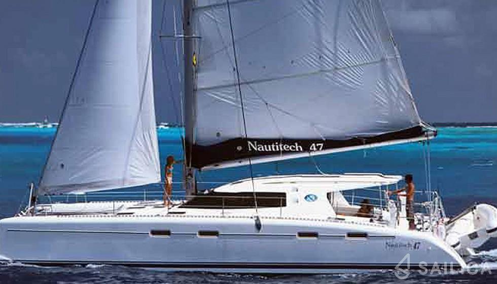 Nautitech 47 - Sailica Yacht Booking System #4