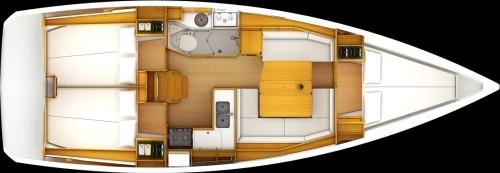JEANNEAU SO 379 - Yacht Charter Sailica