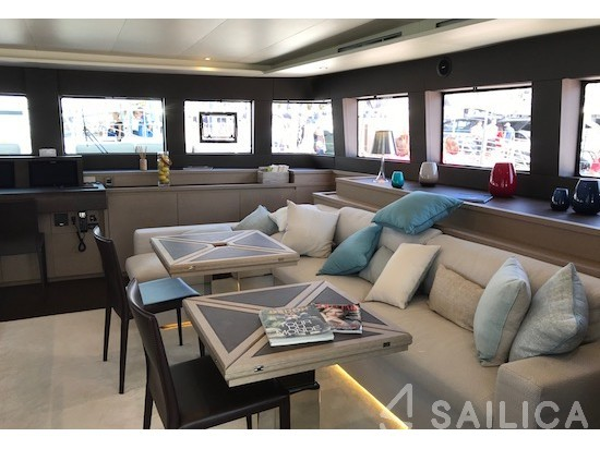 Lagoon 630 Powercat - Yacht Charter Sailica