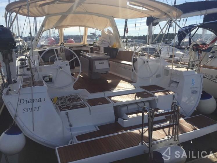 Oceanis 45 - Чартер яхт Sailica