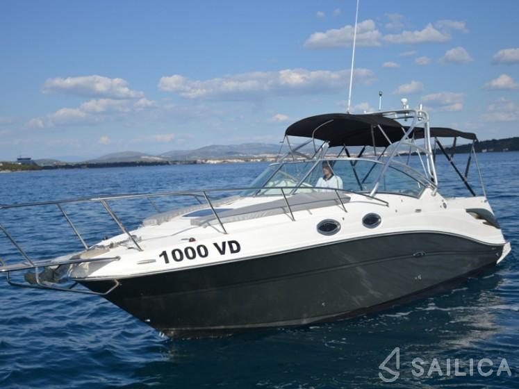Sea Ray 275 Amberjack - Yacht Charter Sailica