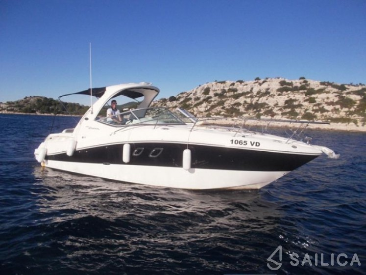 Sea Ray 335 Sundancer For Rent In Marina Tribunj Tribunj