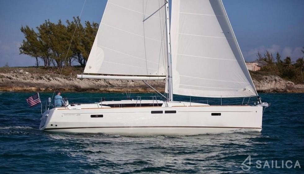 Jeanneau 479 - Yacht Charter Sailica