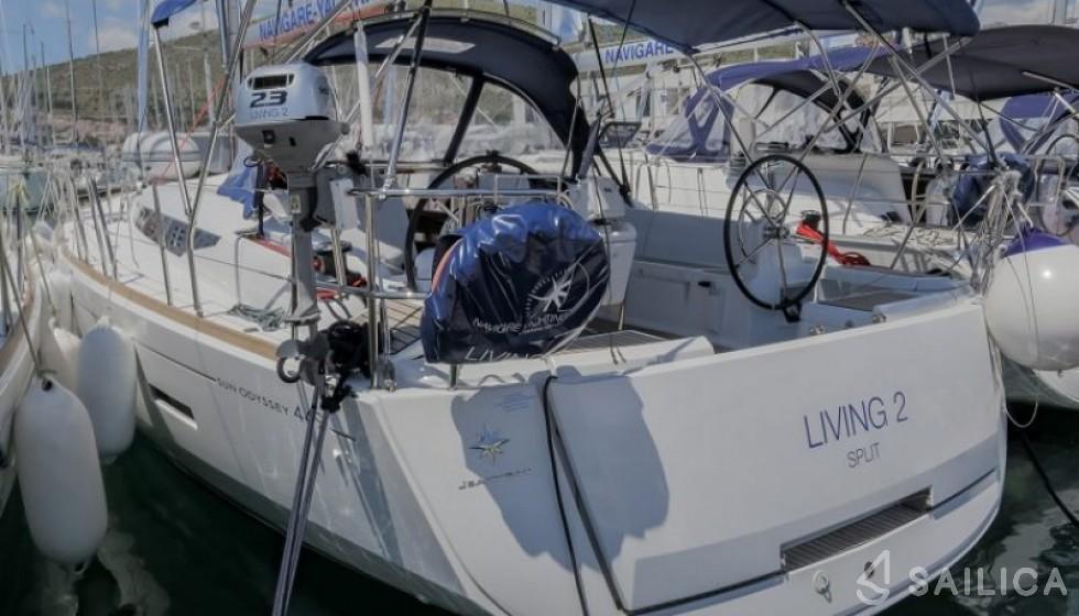 Sun Odyssey 449 - Jachtcharter Sailica