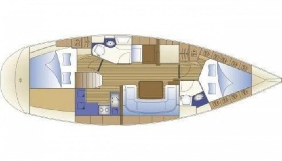 Bavaria 41 - 2 cab. - Sailica Yacht Booking System #8