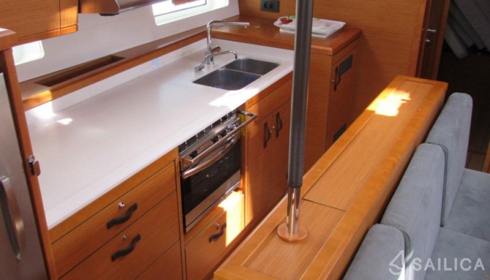Jeanneau 54 - Sailica Yacht Buchungssystem #4