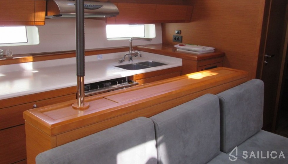Jeanneau 54 - Sailica Yacht Buchungssystem #5