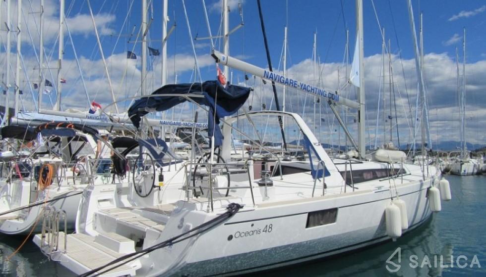 Oceanis 48-4 - Jachtcharter Sailica
