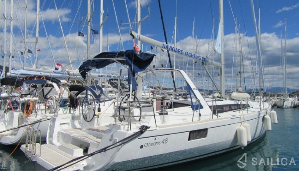 Oceanis 48-4 - Чартер яхт Sailica