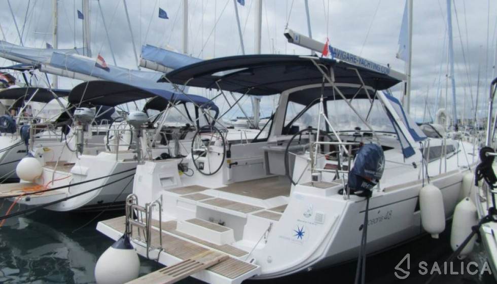 Rent Oceanis 48-5 in Croatia - Sailica