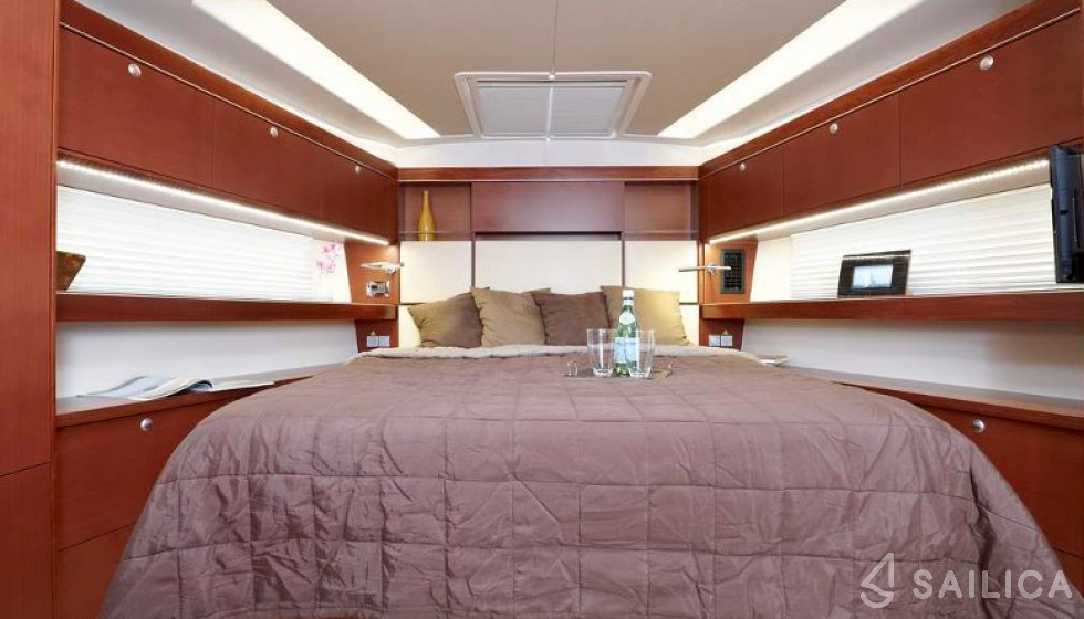 Hanse 575 5 cab - Sailica Yacht Booking System #11