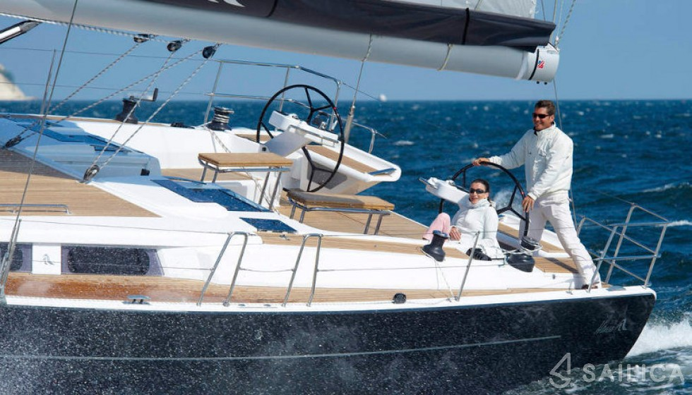 Rent Hanse 575 5 cab in Kroatien - Sailica
