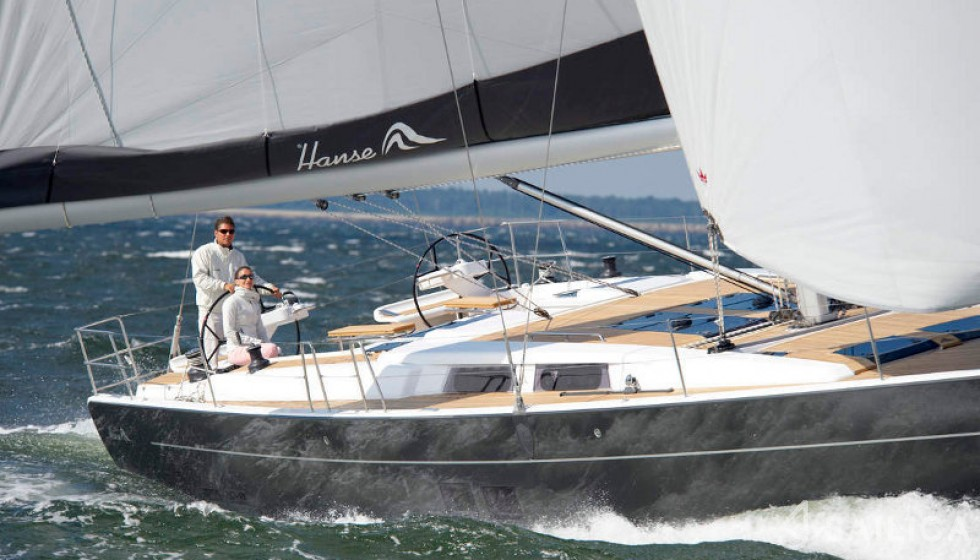Hanse 575 5 cab in Marina Baotic - Sailica