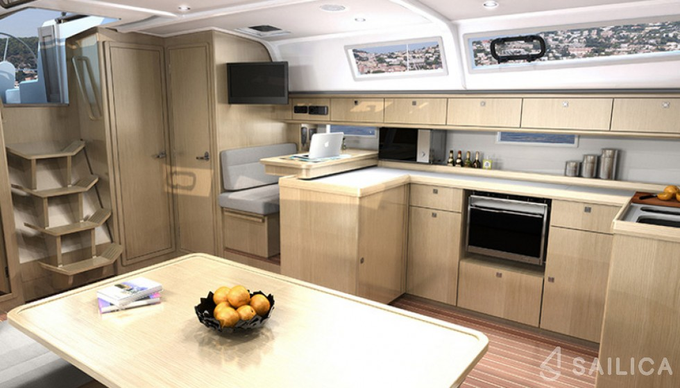 Bavaria Cruiser 51 - Sailica Yacht Booking System #13