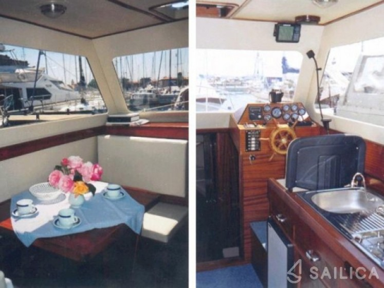 Adria 28 Luxus - Yacht Charter Sailica