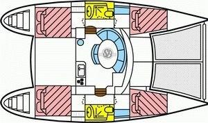 Lagoon 380 S2 - Yacht Charter Sailica