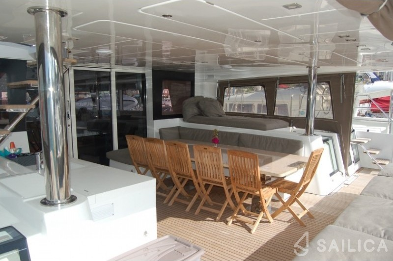 Lagoon 620 - incl. crew & full board - Sailica Yacht Booking System #4