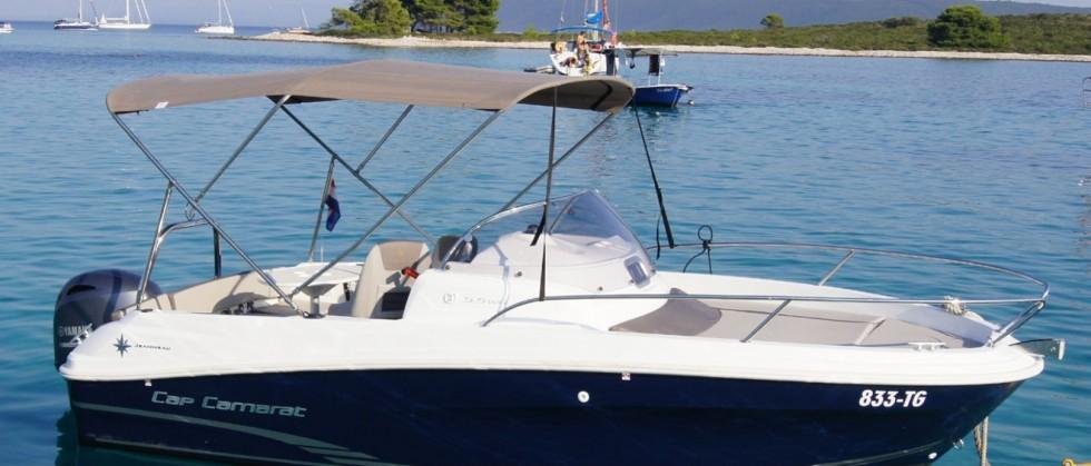 Cap Camarat 5.5 WA S2 - Yacht Charter Sailica
