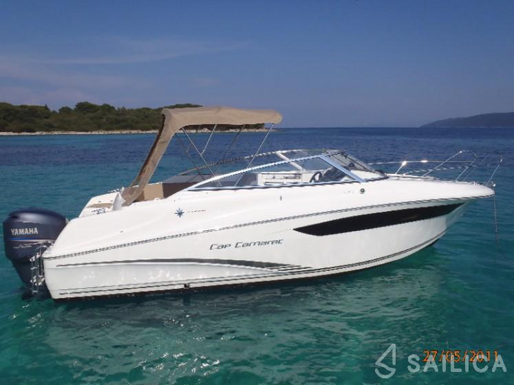 Jeanneau Cap Camarat 7.5 DC - Yacht Charter Sailica