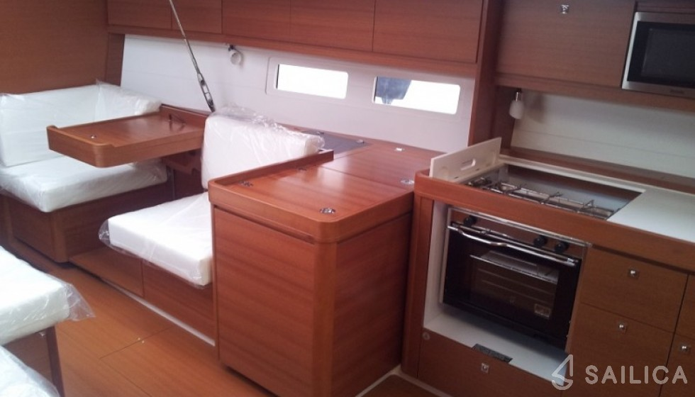 Dufour 445 - Sailica Yacht Booking System #7