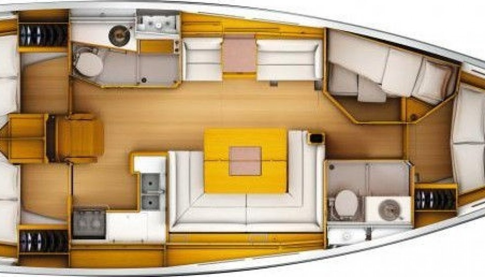 Rent Jeanneau 449 in Greece - Sailica