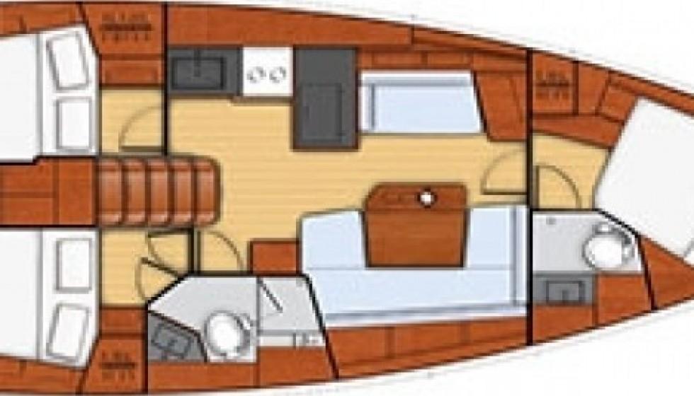Beneteau 41 - Sailica Yacht Booking System #4