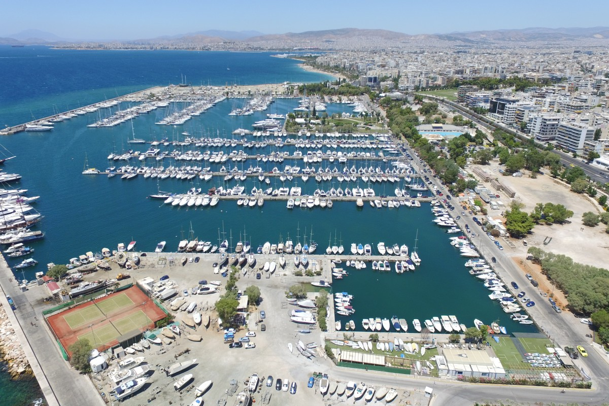 Alimos Marina - Yacht Charter Sailica