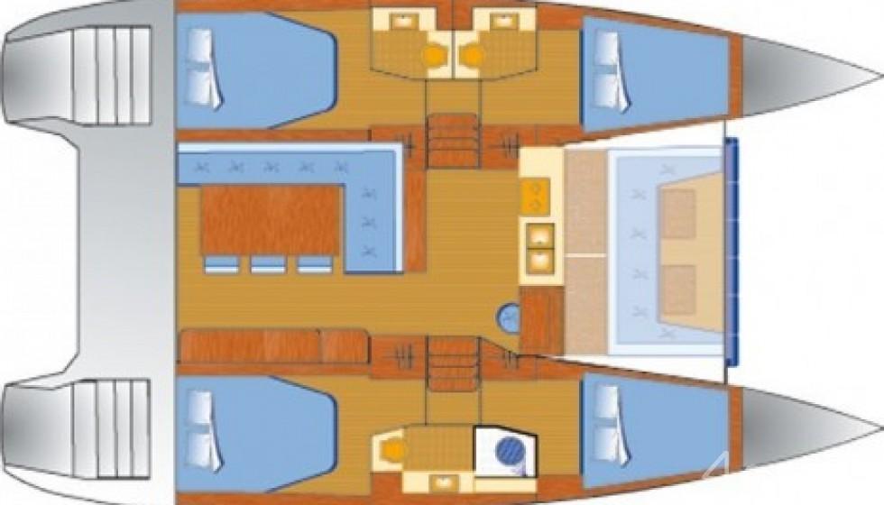 Rent Bali 4.0 in Spain - Sailica