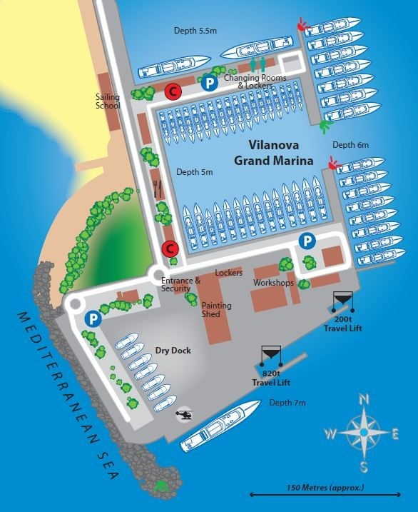 Yacht Charter in Marina San Miguel